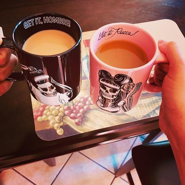 Suavecito and Suavecita Mugs