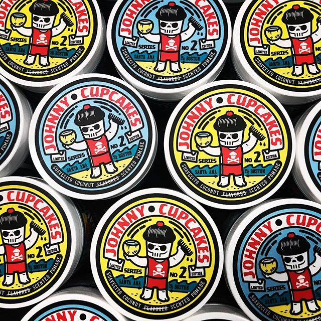 Johnny Cupcakes Coconut Scented Pomade