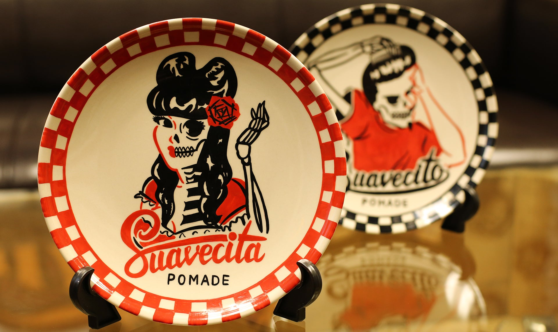 Suavecita plate custom by Lady Weird
