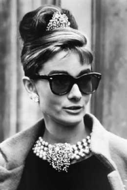Audrey Hepburn's Hairstyle in Breakfast At Tiffany's