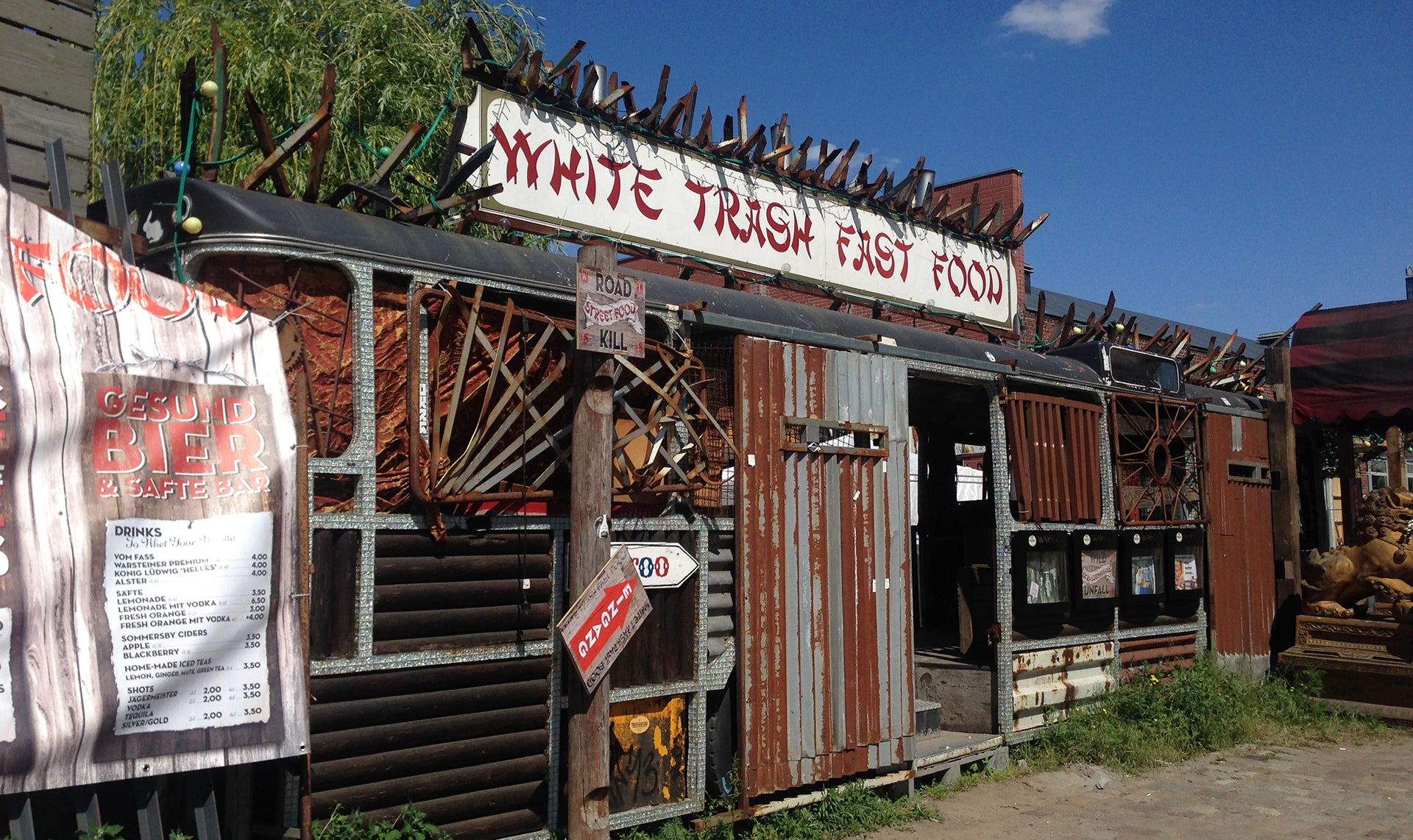 Food Stop at White Trash Food