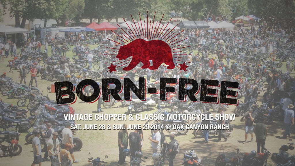 Born Free Vintage Chopper And Classic Motorcycle Show