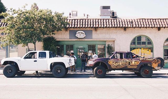 Dirt Alliance - fron of stay gold barber shop