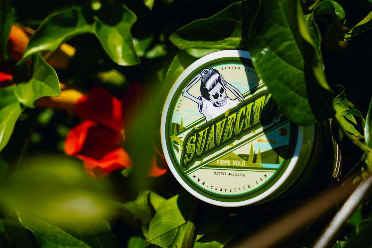 Firme Brush Eucalyptus Parsley Spring Pomade Open