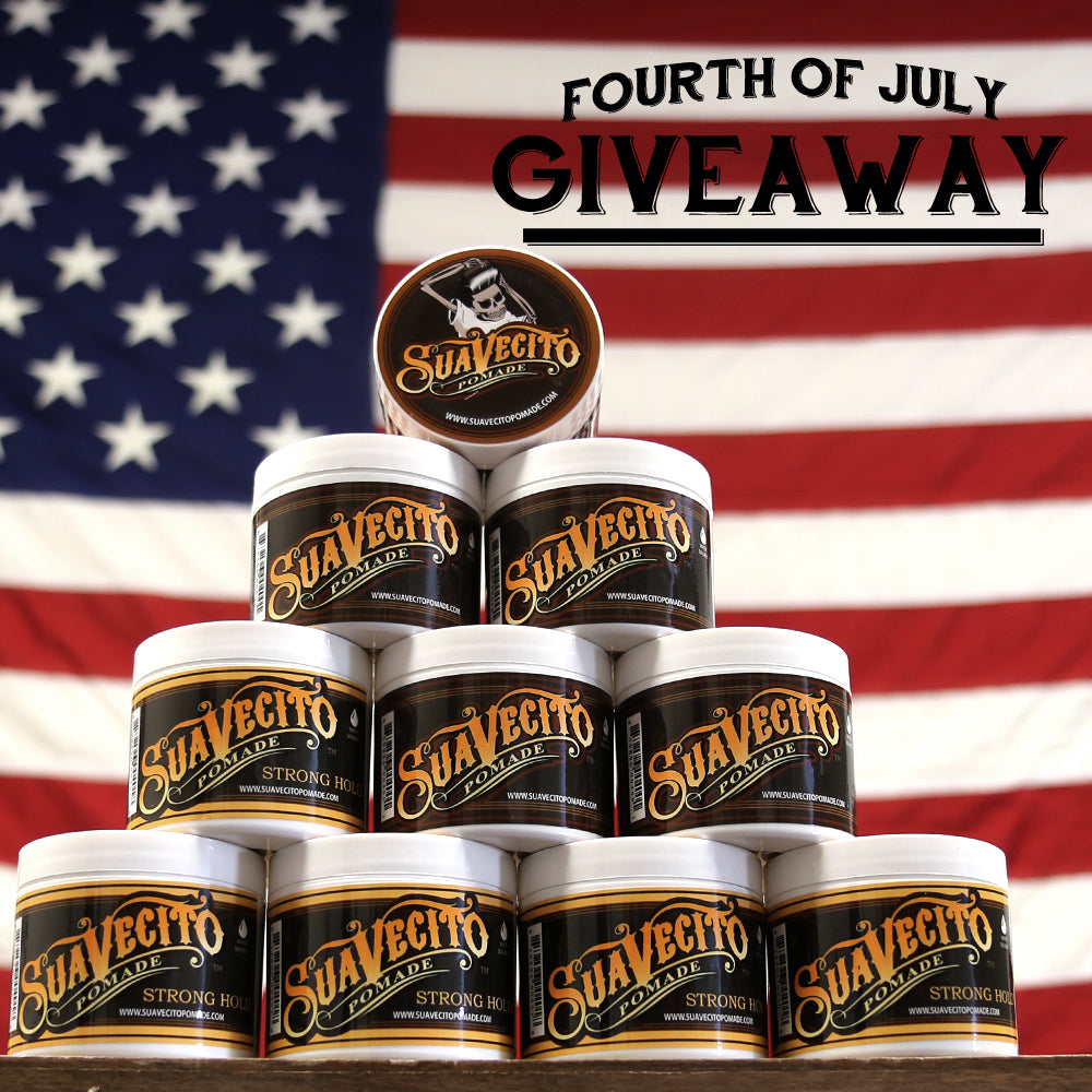 Suavecito Pomade July Fourth Instagram Giveaway