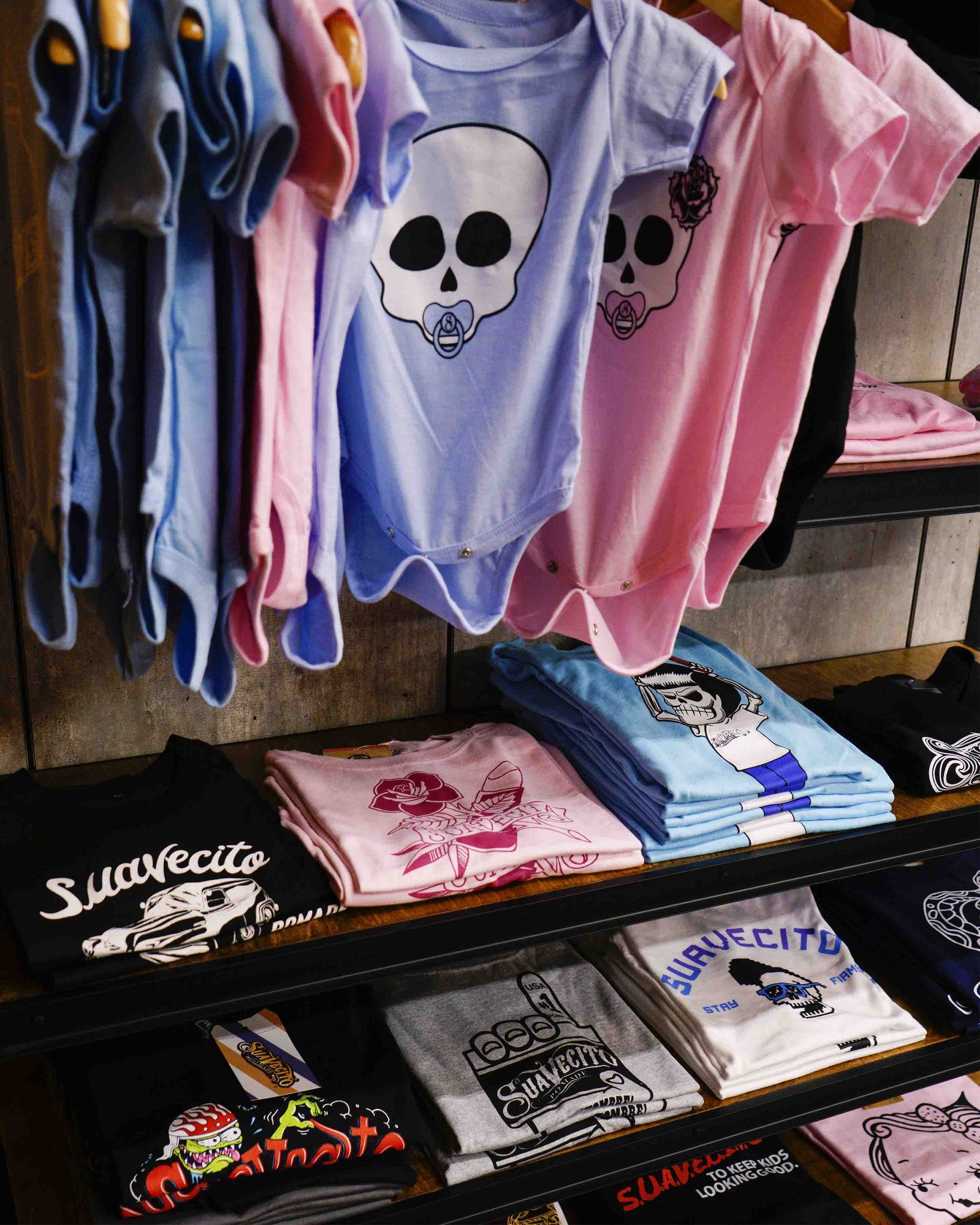 Kids Apparel - Store Front - Suavecito and Suavecita