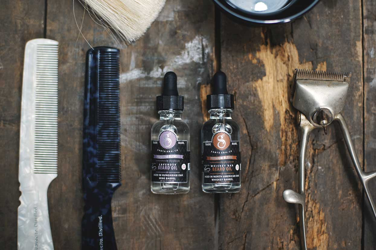 Lavender and Whiskey Bar Contrast Beard Oils Suavecito Premium