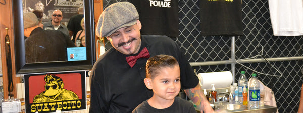 Martin Carona, Owner of Hi-Rollers Barbershop, Suavecito Pomade Collaborator