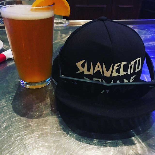 MetalMohawk - brew with a suavecito pomade hat