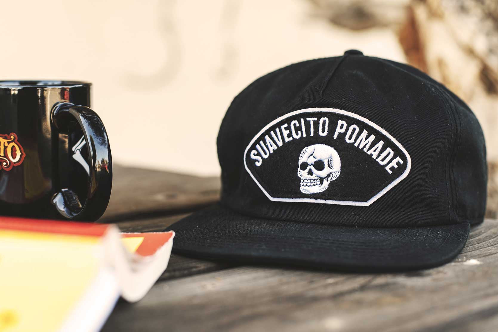 Morning Coffee Broken Skull Hat Suavecito Pomade