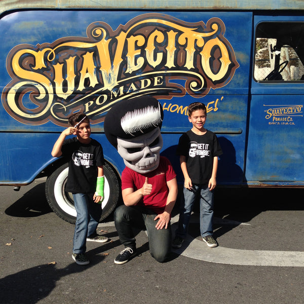 Supporters Of Suavecito Pomade Stop By The Noche De Altares Festival