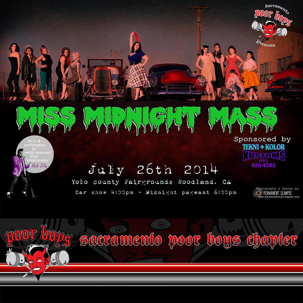 Sacramento Poor Boys Presents: Midnight Mass Car Show