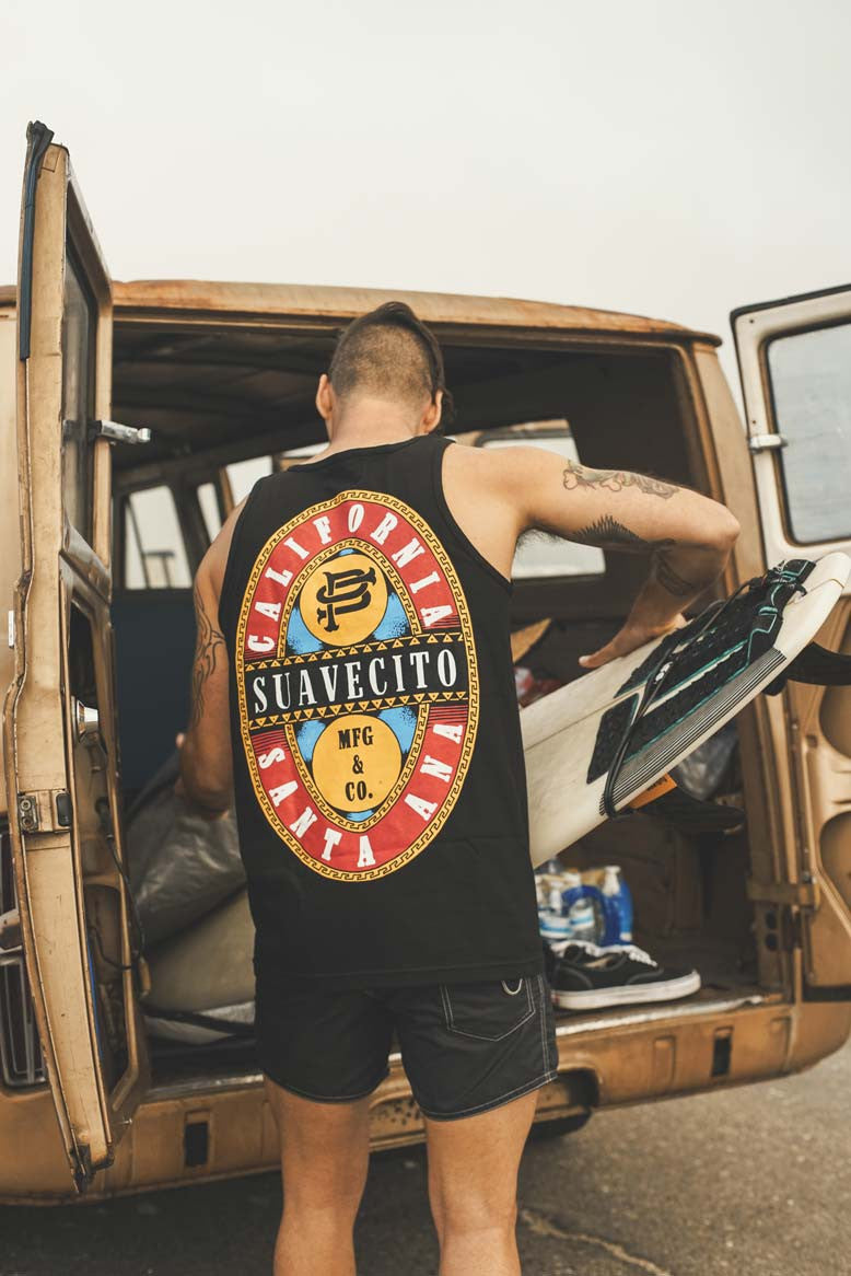 Pulling out the Board Barley Tee Suavecito Summer Collection