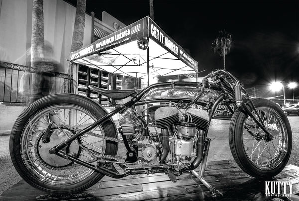 Suavecito Pomade Indian Board Tracker Motorcycle Project In Las Vegas