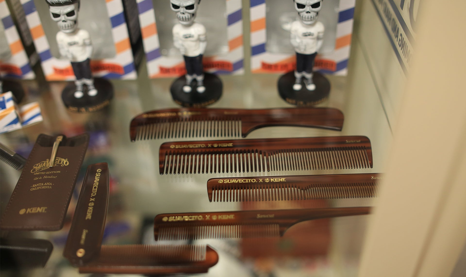 Suavecito X Kent Comb Collaboration - Wait till you see our combs