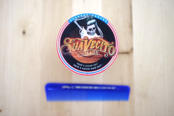 Suavecito Pomade X Sunny Collab Can - Top View