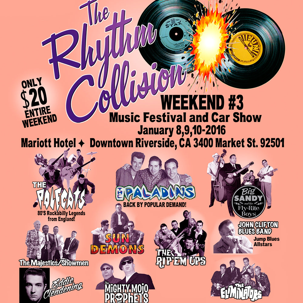 The Rhythm Collision show