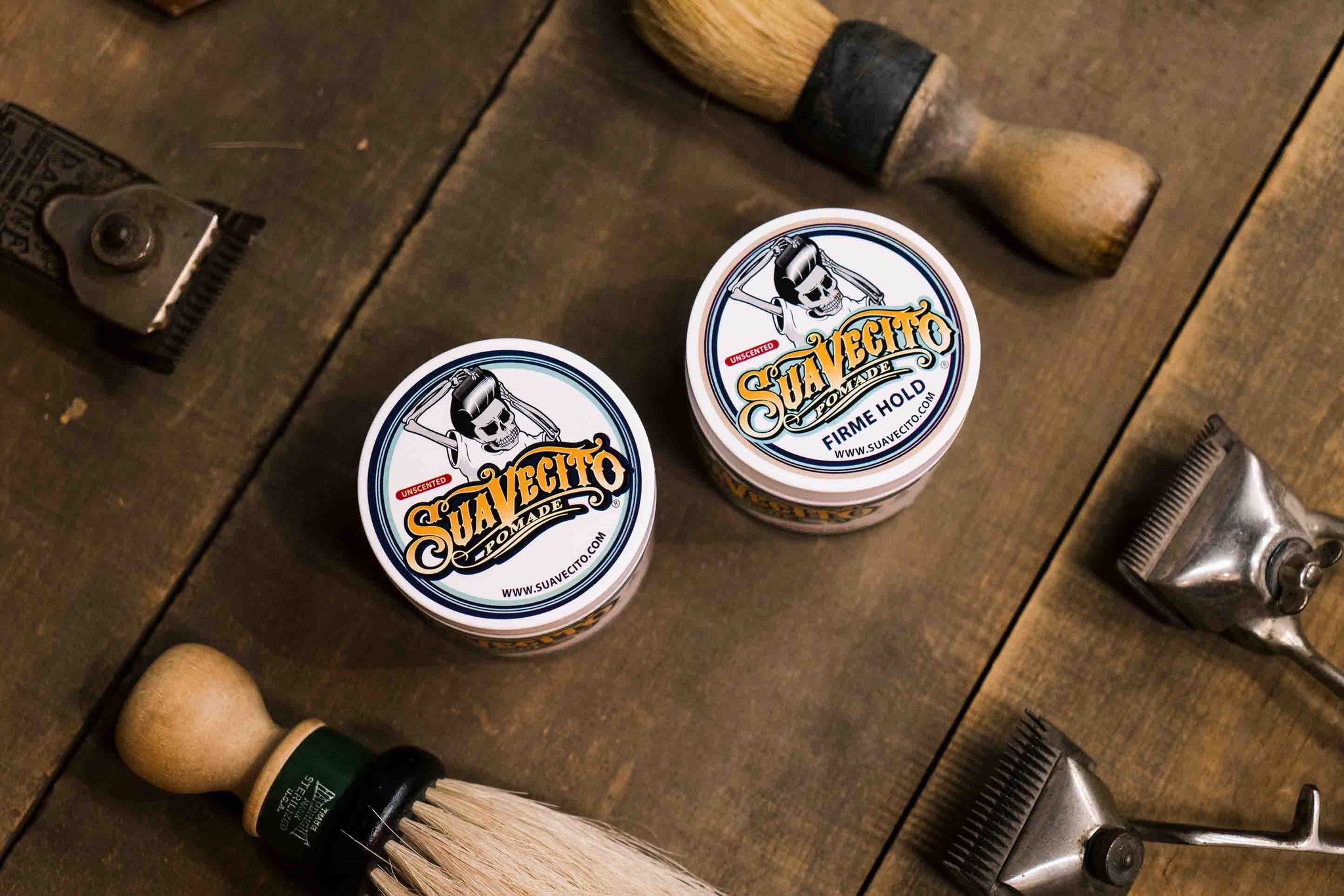 Unscented Pomade - Barber Tools - Suavecito Pomade