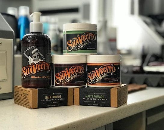 Suavecito Men's Hair Grooming Line