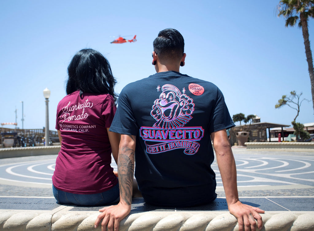 Suavecito Summer Shirts Cosmetics Co Tee and Pogo Tee