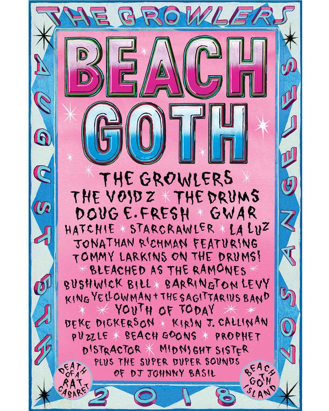 Beach Goth - Aug 5th, 2018