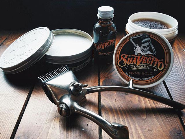 BRO Barber & Shop Russia Barbershop with Suavecito Pomade