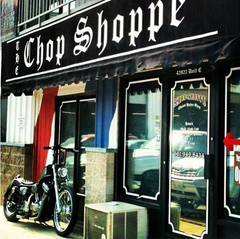 Front View Of The Chop Shoppe
