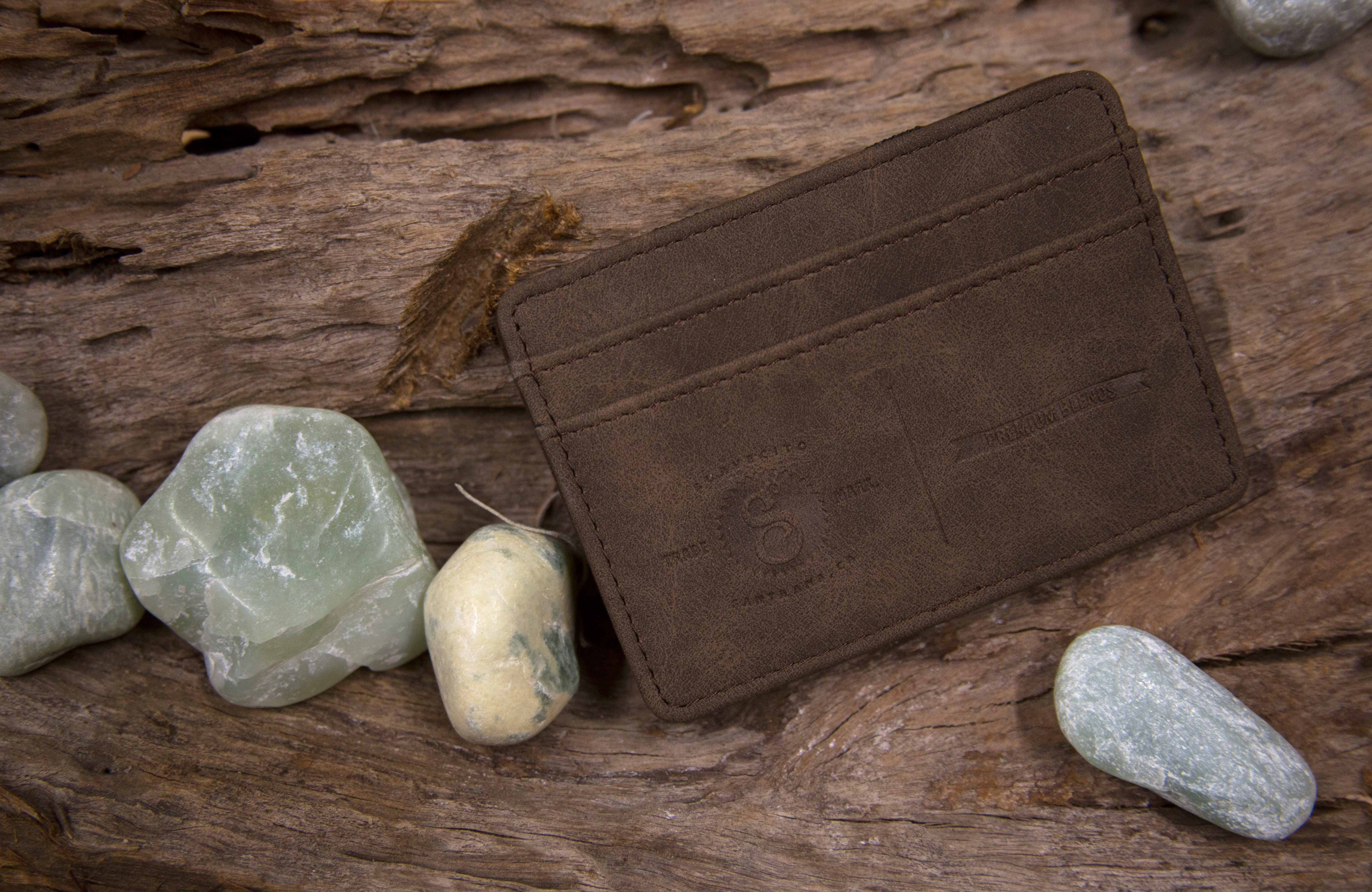 Suavecito Magic Wallet Available In Chocolate Brown