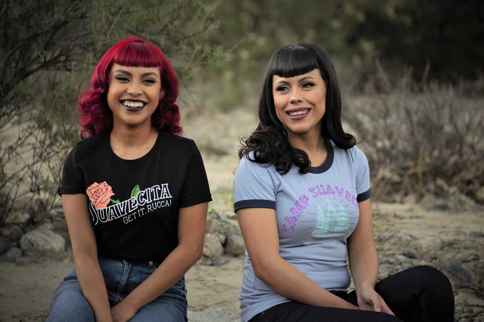 Look at these very beautiful suavecita pomade ladies