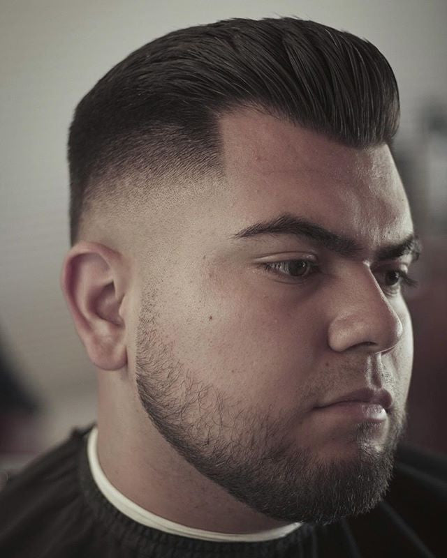 crusstyy haircut on instagram using suavecito pomade to style to perfection