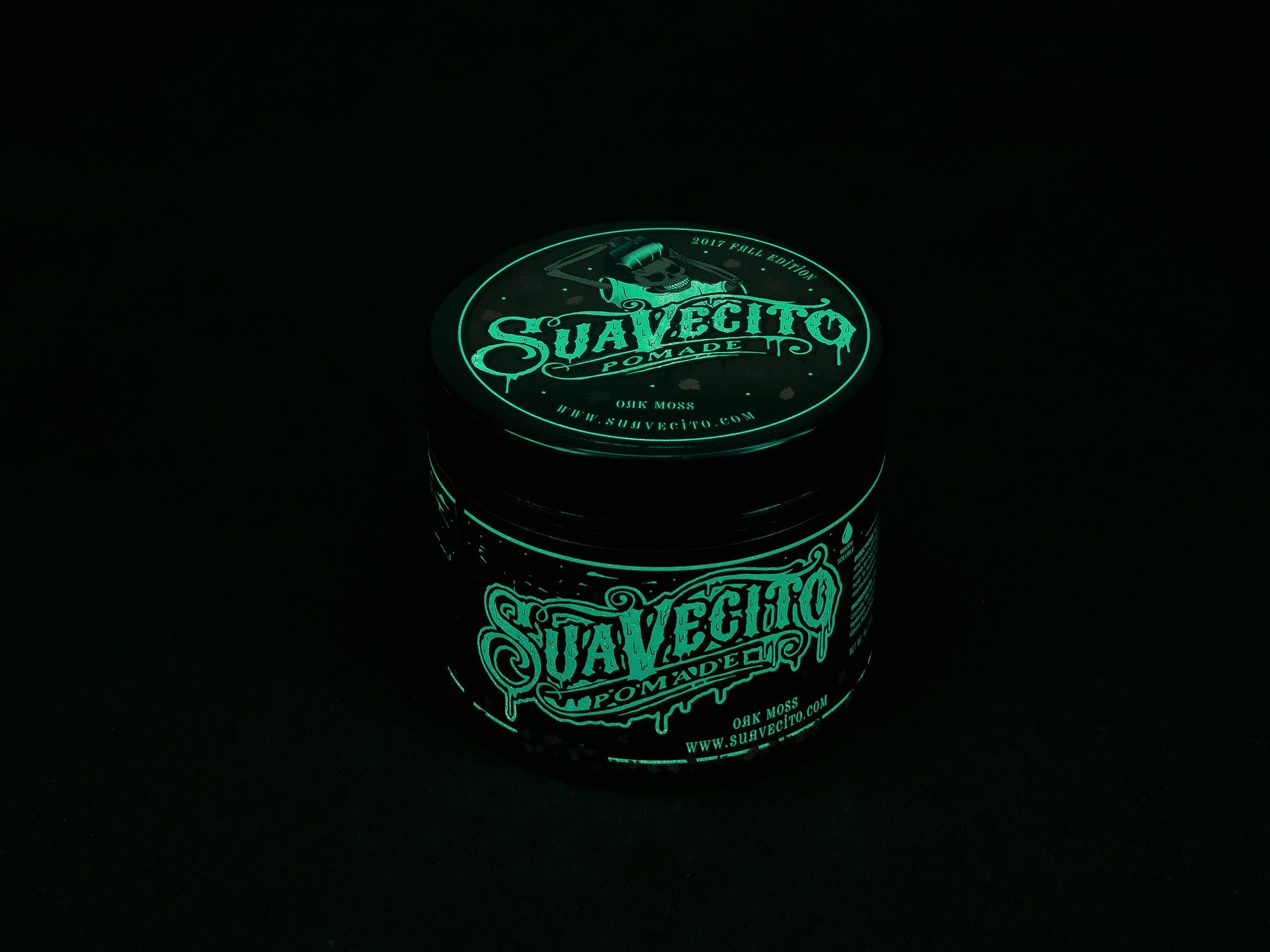 glow in the dark pomade by suavecito pomade