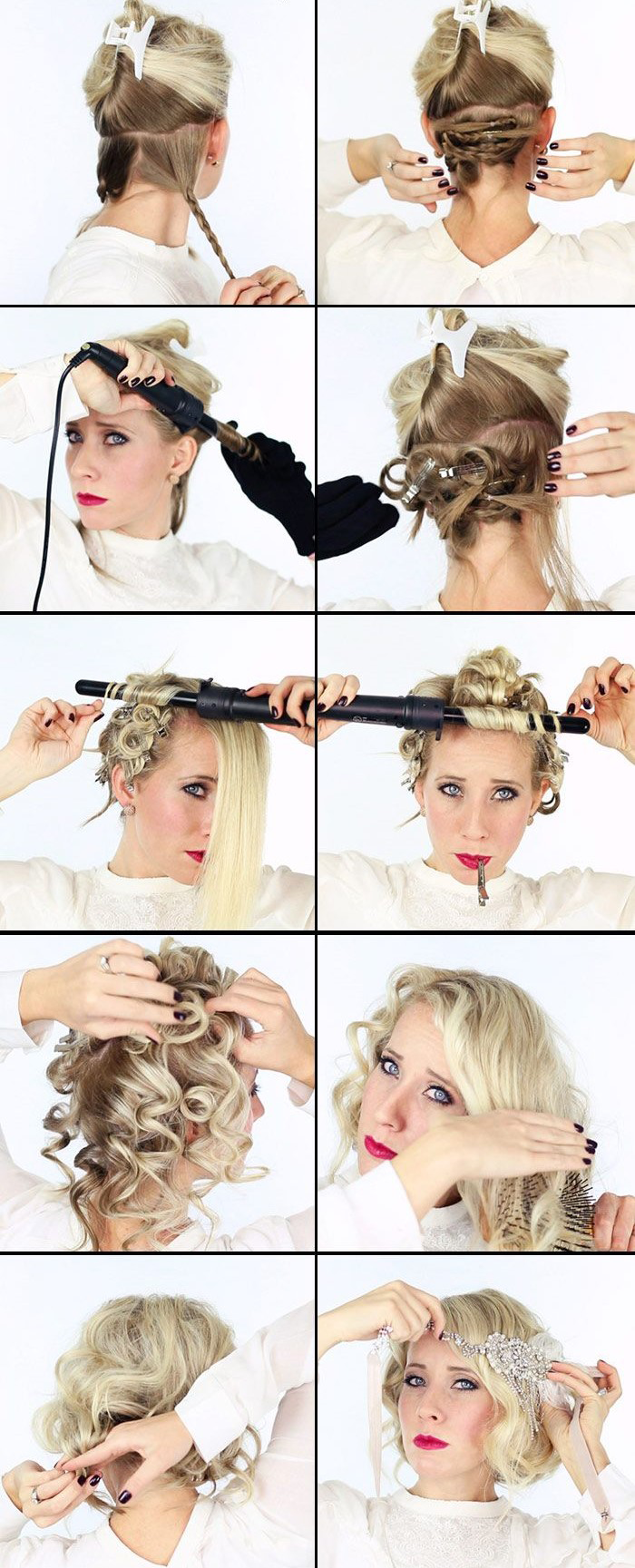 Suavecita Great Gatsby Hair Tutorial