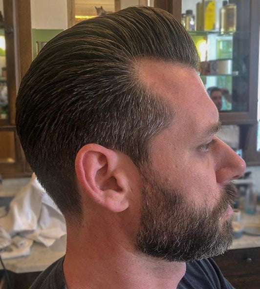 Sailersbarbershop Using Suavecito Oilbased