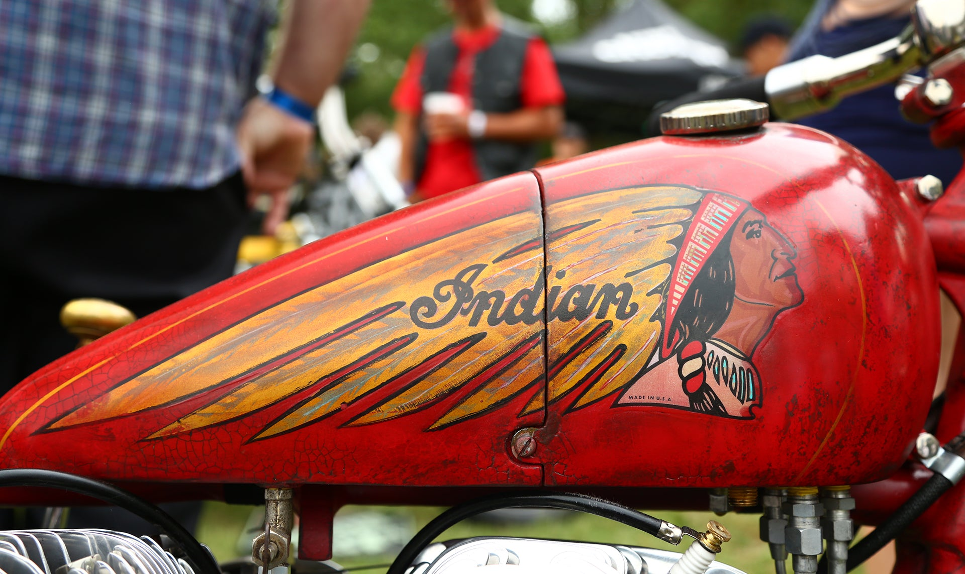 Indian Motorcycle Gas Tank