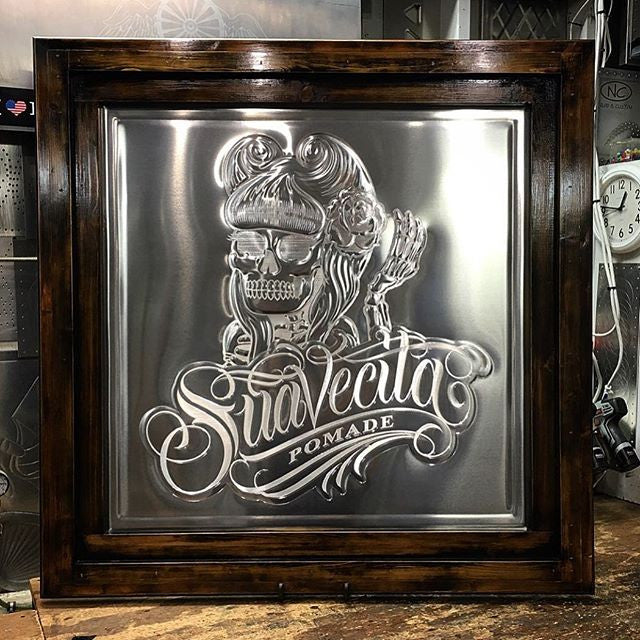jameyjordan - Suavecita metal sign