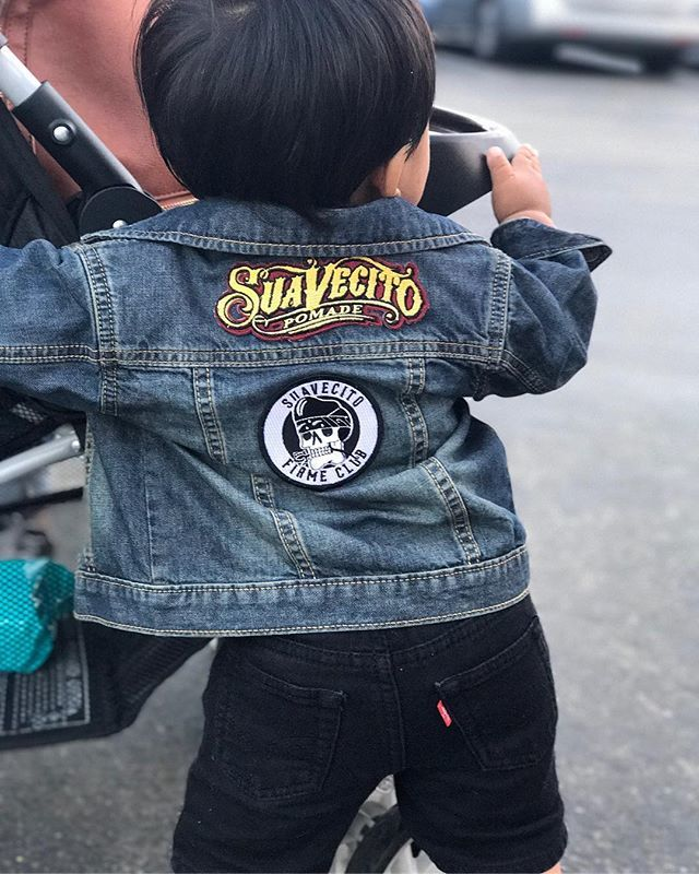 kids jean jack on child with suavecito pomade patch firme club