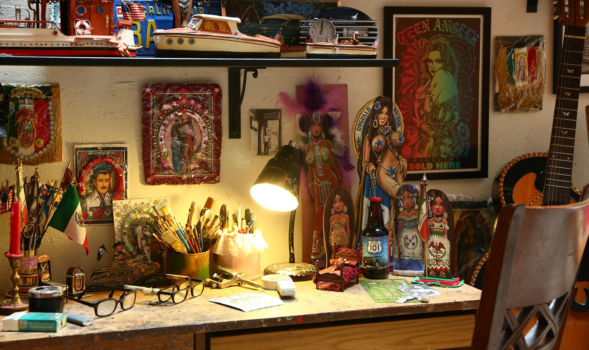 Teen Angel workspace