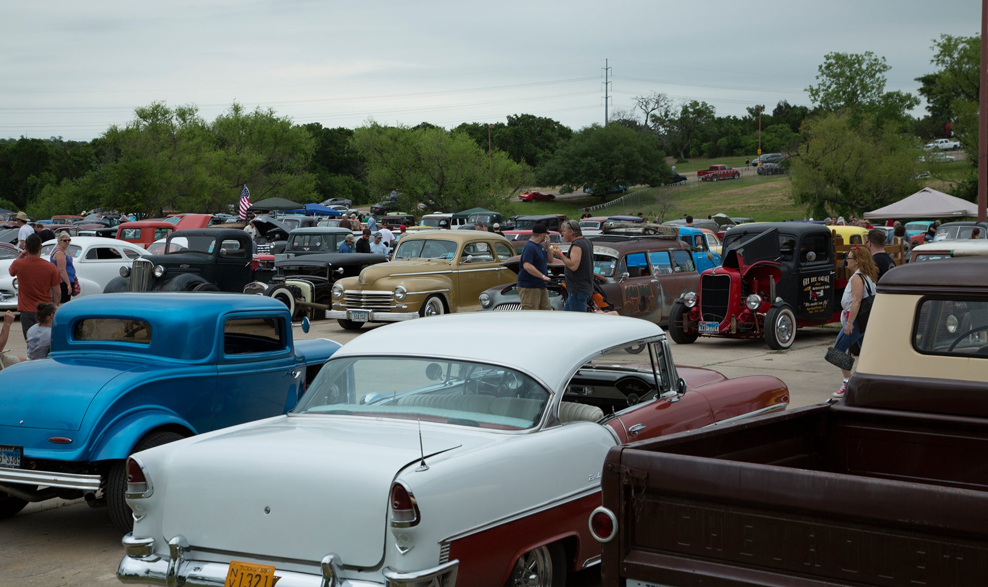 Lonestar sea of cars