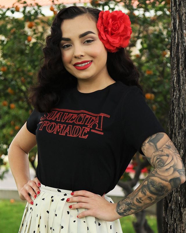 misslettylou - mouth breather tee suavecito pomade swag