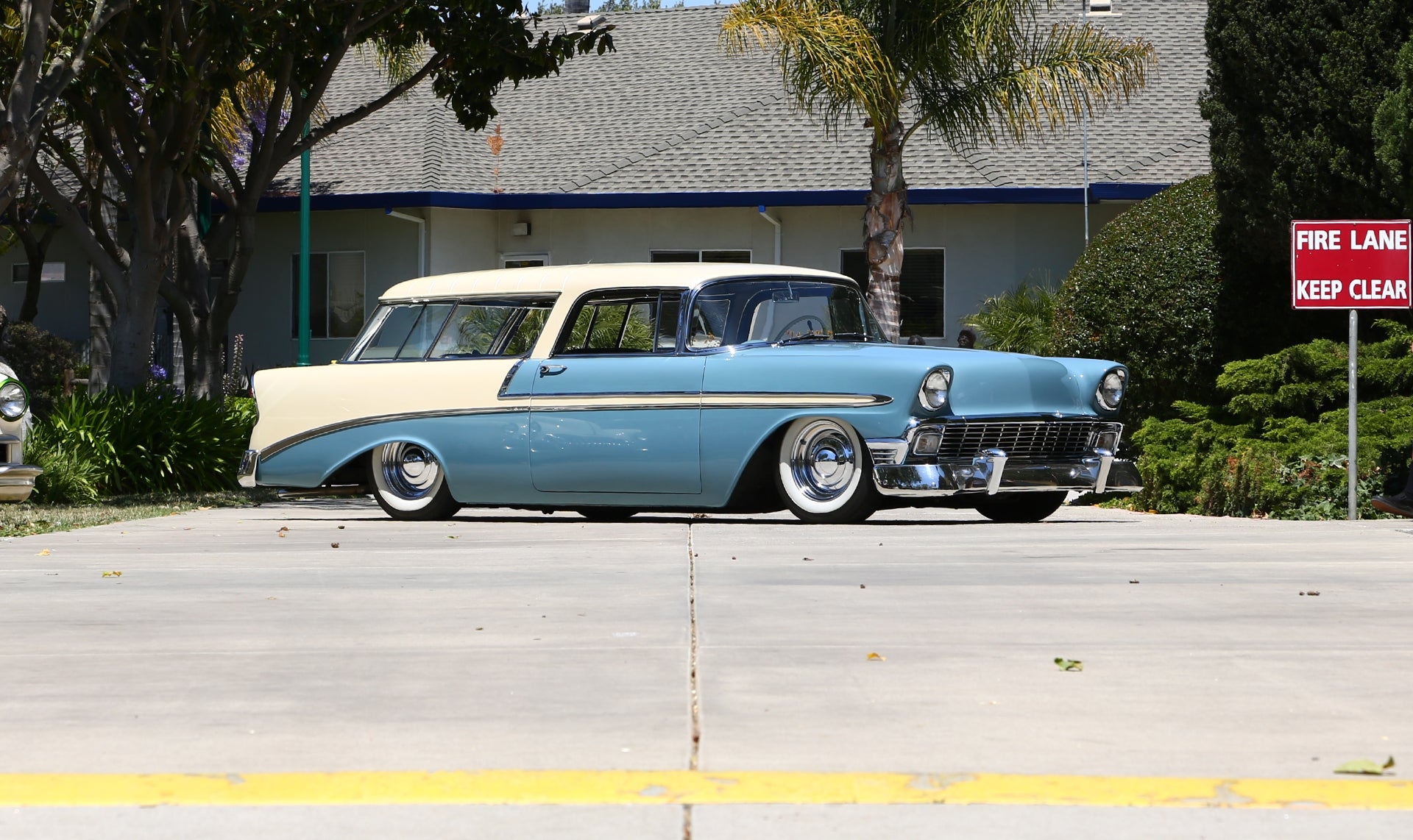 One Mean Clean Looking Chevy Nomad