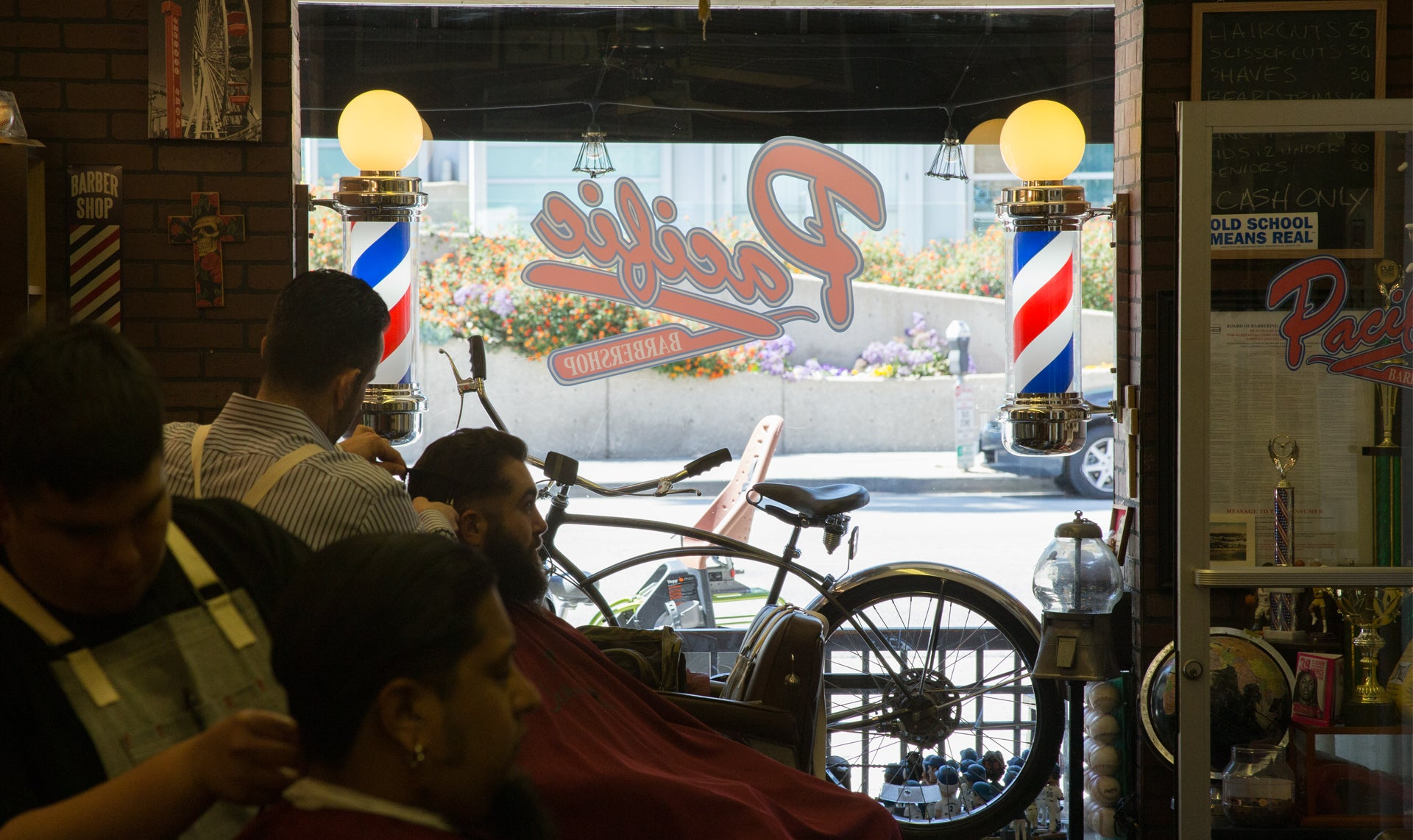 Haircuts And Shaves at Pacific Barbershop
