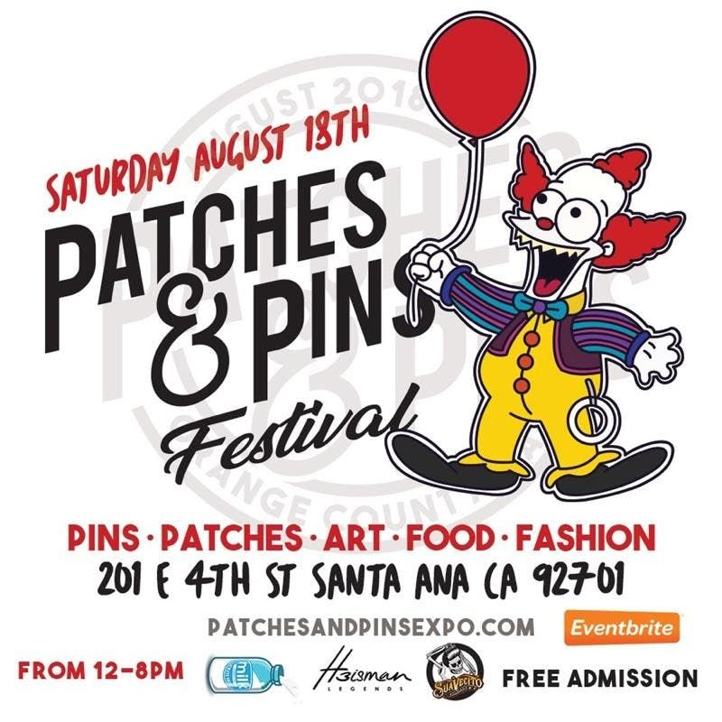 Patches & Pins Festival - Orange County