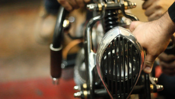 Suavecito Pomade Motorcycle Front View