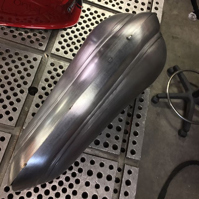 sosa metal works - gas tank - working progress