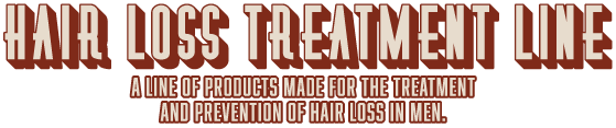 Suavecito Hair Loss Treatment Line. A line of products made for the treatment and prevention of hair loss in men.