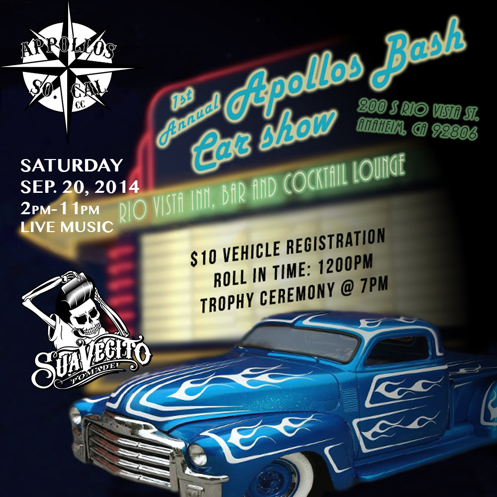 1st Annual Apollos Bash Car Show