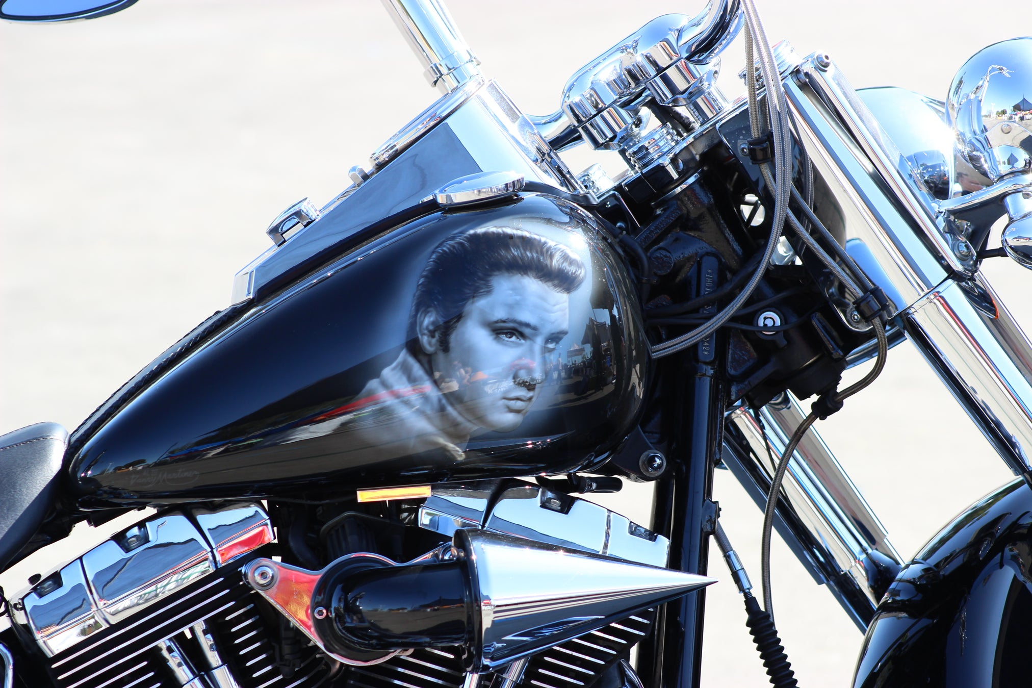 Suavecito Pomade 15th Annual Elvis Festival Bike
