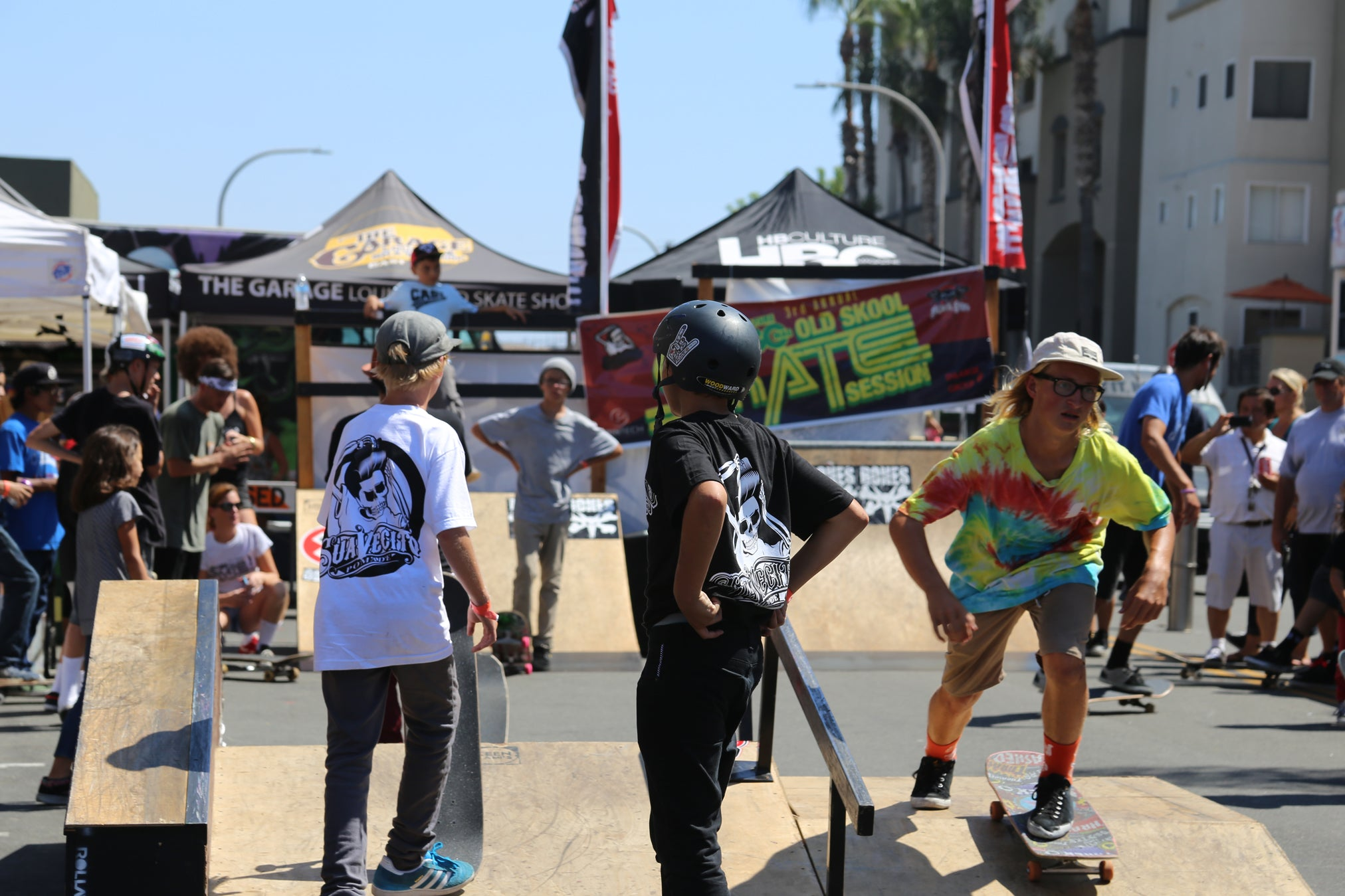 Suavecito X HBC Old Skool Skate Session