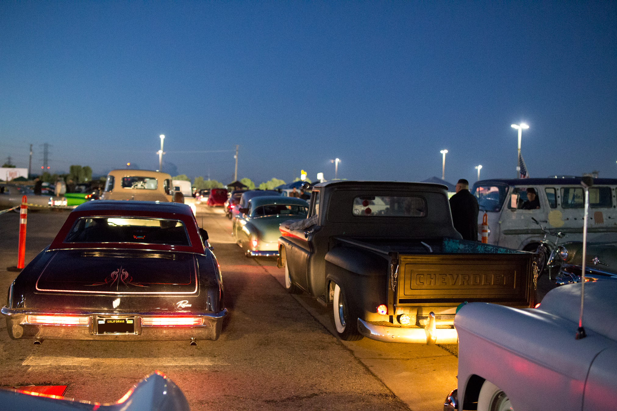 Suavecito Pomade Mooneyes Xmas Party Irwindale Speedway