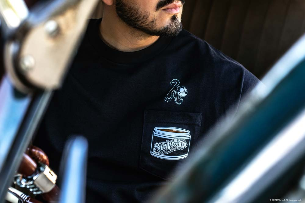 Suavecito X Felix The Cat - Diving Pocket Tee